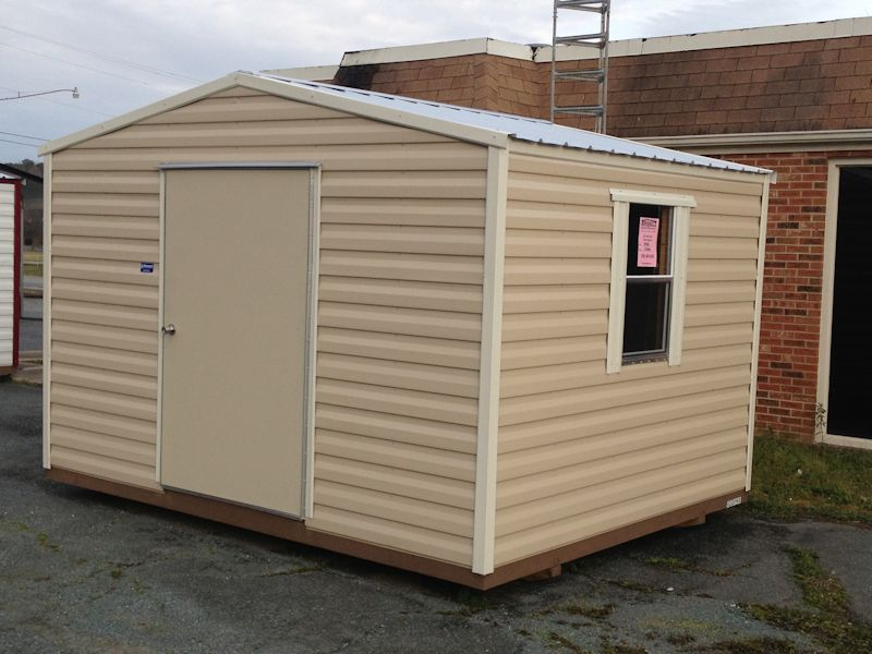 Utility Shed With Swing Door Hometown Sheds Conway